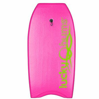 Lucky Bums Body Board with EPS Core, 41, Pink