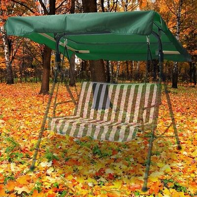 """76""""x44"""" Replacement Swing Canopy Cover Top Porch Patio Seat Outdoor Furniture"""