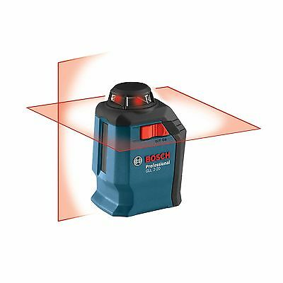 Bosch GLL 2-20 Dual Crossline Self-Leveling Plumb Laser with Carrying Case