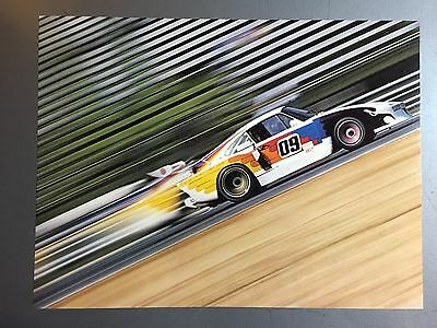 1976 Porsche 935 Coupe Race Car Print Picture Poster RARE!! Awesome L@@K