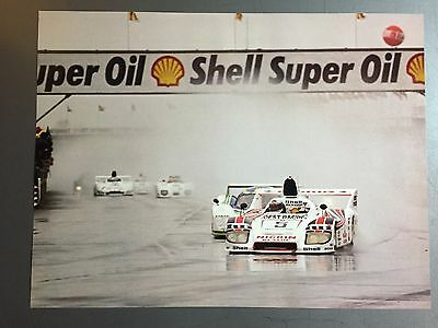 1976 Porsche 936 Spyder Race Car Print Picture Poster RARE!! Awesome L@@K