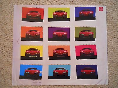 Porsche 928 Coupe Showroom Advertising Sales Poster RARE!! Awesome L@@K