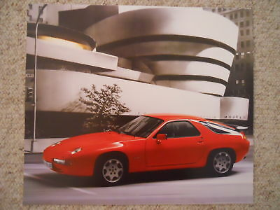 1989 Porsche 928 S4 Showroom Advertising Sales Poster RARE!! Awesome L@@K