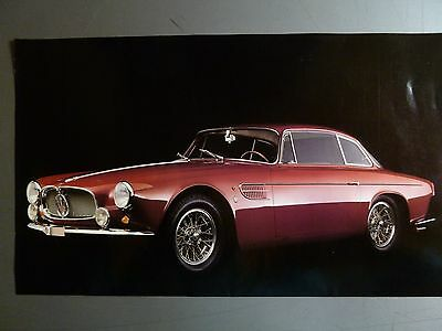 1956 Maserati A6G 2000 Coupe Print, Picture, Poster RARE!! Awesome L@@K