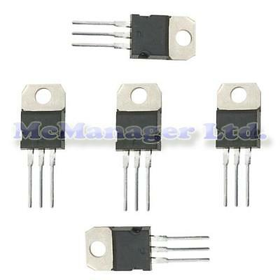5x TIP31A Medium Power NPN Linear And Switching Transistor TO-220
