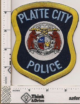 Platte City Police. Missouri.