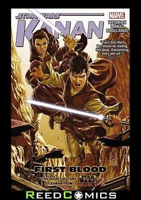 STAR WARS KANAN VOLUME 2 FIRST BLOOD GRAPHIC NOVEL New Paperback Collects #7-12