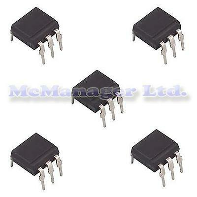 2-5-10-50pcs  4N25 Optoisolator/Photo/Optocoupler/IC 6 Pin DIP