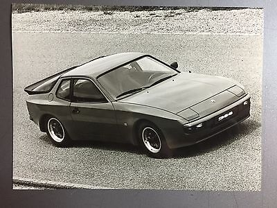 """1983 Porsche 944 Coupe B&W Press Photo Factory Issued """"Werkfoto"""" RARE!! Awesome"""