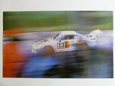 1979 Porsche 935 Coupe Race Car Print, Picture, Poster RARE!! Awesome L@@K
