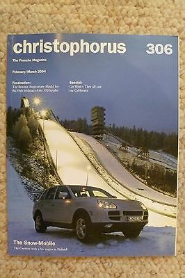 Porsche Christophorus Magazine English #306 February / March 2004 Awesome L@@K