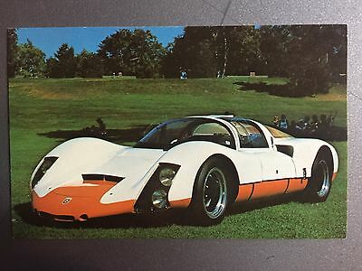 1967 Porsche 906 Carrera 6 Postcard Post Card RARE!! Awesome L@@K