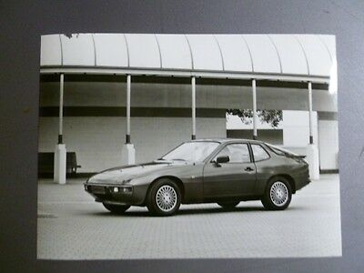 1984 Porsche 924 Coupe FACTORY Press Photo Foto RARE!! Awesome L@@K