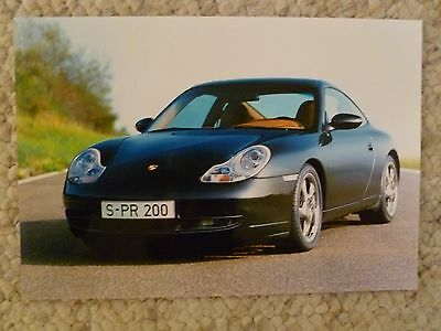 2000 Porsche Factory 911 Carrera 4 Coupe Press Photo, Foto RARE!! Awesome L@@K