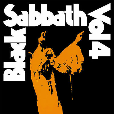 BLACK SABBATH 'VOL 4' Factory Sealed LP 12'' Album  +  CD / 180G VINYL