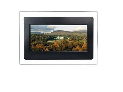 "9"" Axion 640x220 Widescreen Digital Photo Frame & MP3 Player (BLK/CLR) - Canada"