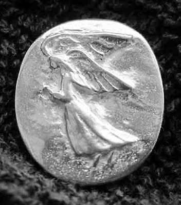 25 ANGELS!  Lead-Free Pewter Pocket Guardian Angel Coin/Token
