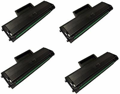 Non-Oem 4 Pk Toner Cartridge For Samsung Mlt-D104S Ml1660 Ml1665 Ml1666 Ml1670