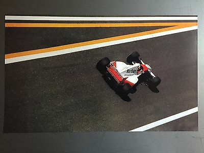 1995 McLaren Marlboro Racing Indycar Print, Picture, Poster RARE!! Awesome L@@K