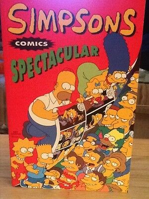 Simpsons Comics Spectacular Tpb (1995) #1 - Marked 1St Printing  - Vf