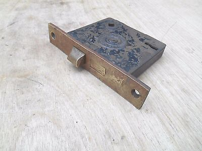 Vtg Russell & Erwin Mortise Lockset