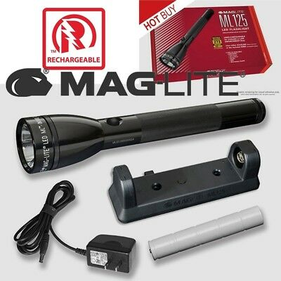 MAGLITE ® ML125 LED 193 lumens Rechargeable & Alkaline Batteries Flashlight Sys