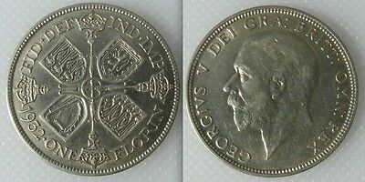 Collectable 1932 0.500 Silver One Florin Coin Of King George V