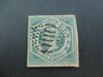 NSW Stamps: 6d Diadems Imperf Watermark 6 - SG17 - 4 MARGINS FU