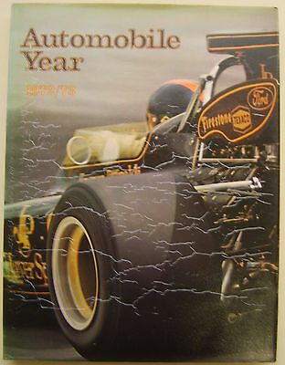 Automobile Year No. 20 1972/73 in good condition with a wrinkled dust wrapper