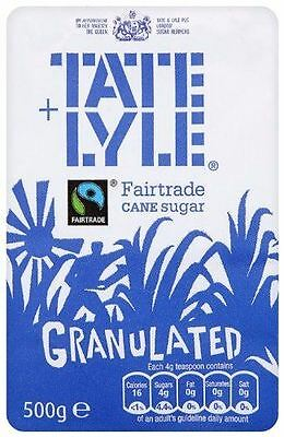 Tate and Lyle Granulated Sugar - 10 x 500g