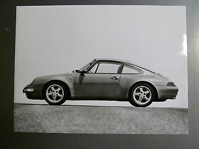 1995 Porsche 911 Carrera 4 Coupe B&W Press Factory Issued Photo RARE!! L@@K