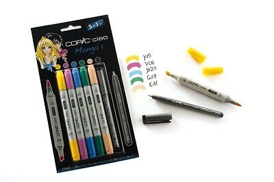 COPIC ciao Set 5+1 NEU 22075556 Manga 1 Copicmarker Mangaset
