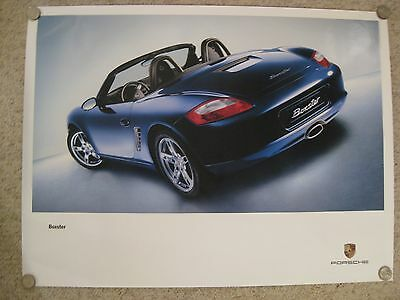 2004 Porsche Boxster Showroom Advertising Sales Poster RARE!! Awesome L@@K