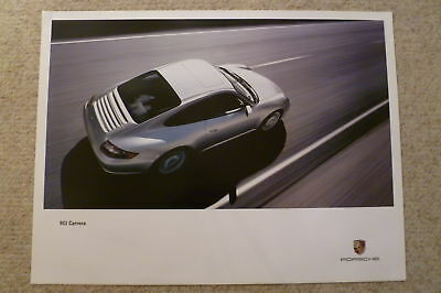Porsche 911 Carrera Coupe Showroom Advertising Poster RARE!! Awesome L@@K
