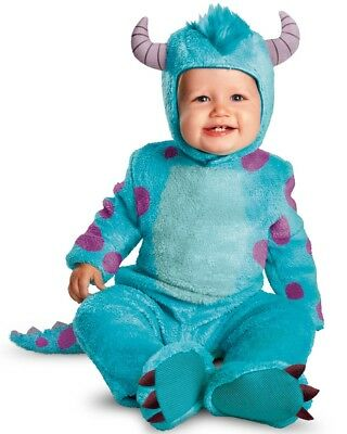 Official Disney Pixar Monsters Inc University Sulley Baby Infant Costume