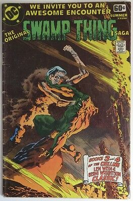 1978 Original Swamp Thing Saga #14   -   Vg                    (Inv9615)