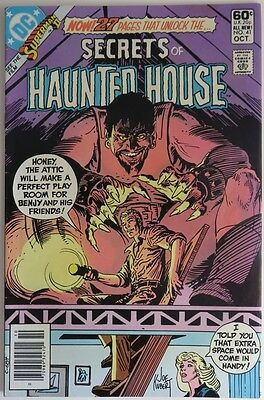 1981 Secrets Of Haunted House #41   -   Vg                    (Inv9612)