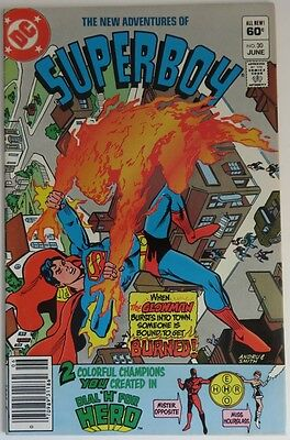 1982 New Adventures Of Superboy #30   -  Vf            (Inv9972)