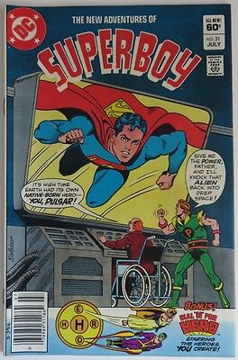 1982 New Adventures Of Superboy #31   -  Vf            (Inv9971)