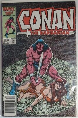 1986 Conan The Barbarian #187  -  Vg                         (Inv6050)