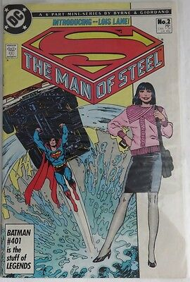 1986 The Man Of Steel  #2   -    F                             (Inv5060)
