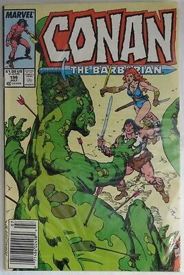 1987 Conan The Barbarian #196  -  F                        (Inv5957)