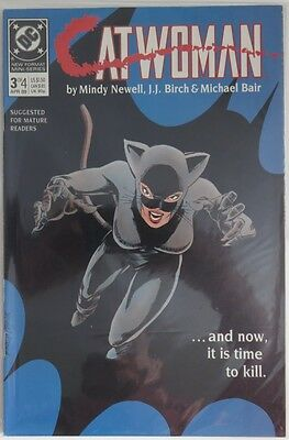 1989 Catwoman #3  Of 4 -   Vg                       (Inv8957)