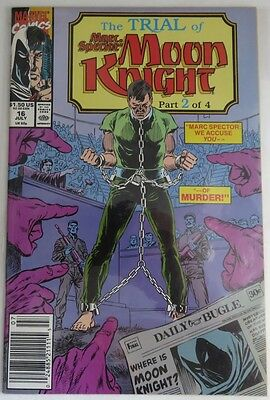 1990 Marc Spector: Moon Knight #16  -   Vf/nm                   (Inv4372)