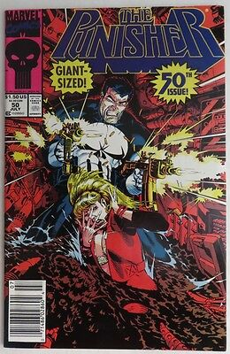 1991 The Punisher #50 -  Vf/nm                     (Inv6475)