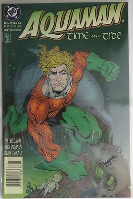 1994 Aquaman Time And Tide #2  -    Fvf                   (Inv4789)