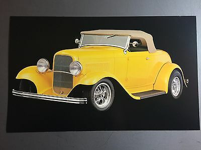 1932 Street Rod Roadster Print, Picture, Poster RARE!! Awesome L@@K