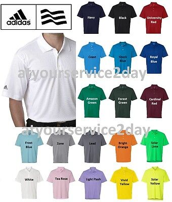 ADIDAS Mens Dri Wick Climalite GOLF Polo Sport Shirts Size S-3XL NEW A130