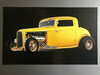 1934 3-Window Coupe Street Rod Print, Picture, Poster RARE!! Awesome L@@K