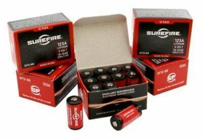 Surefire (60) 123A Lithium 3V Batteries for Flashlights #SUR-SF60-BB